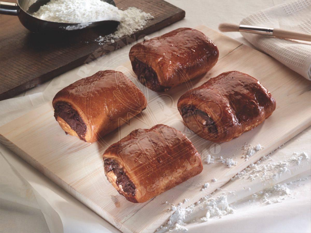 Napolitana de chocolate sin gluten