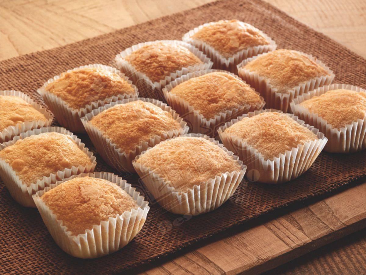 Magdalenas de azúcar sin gluten