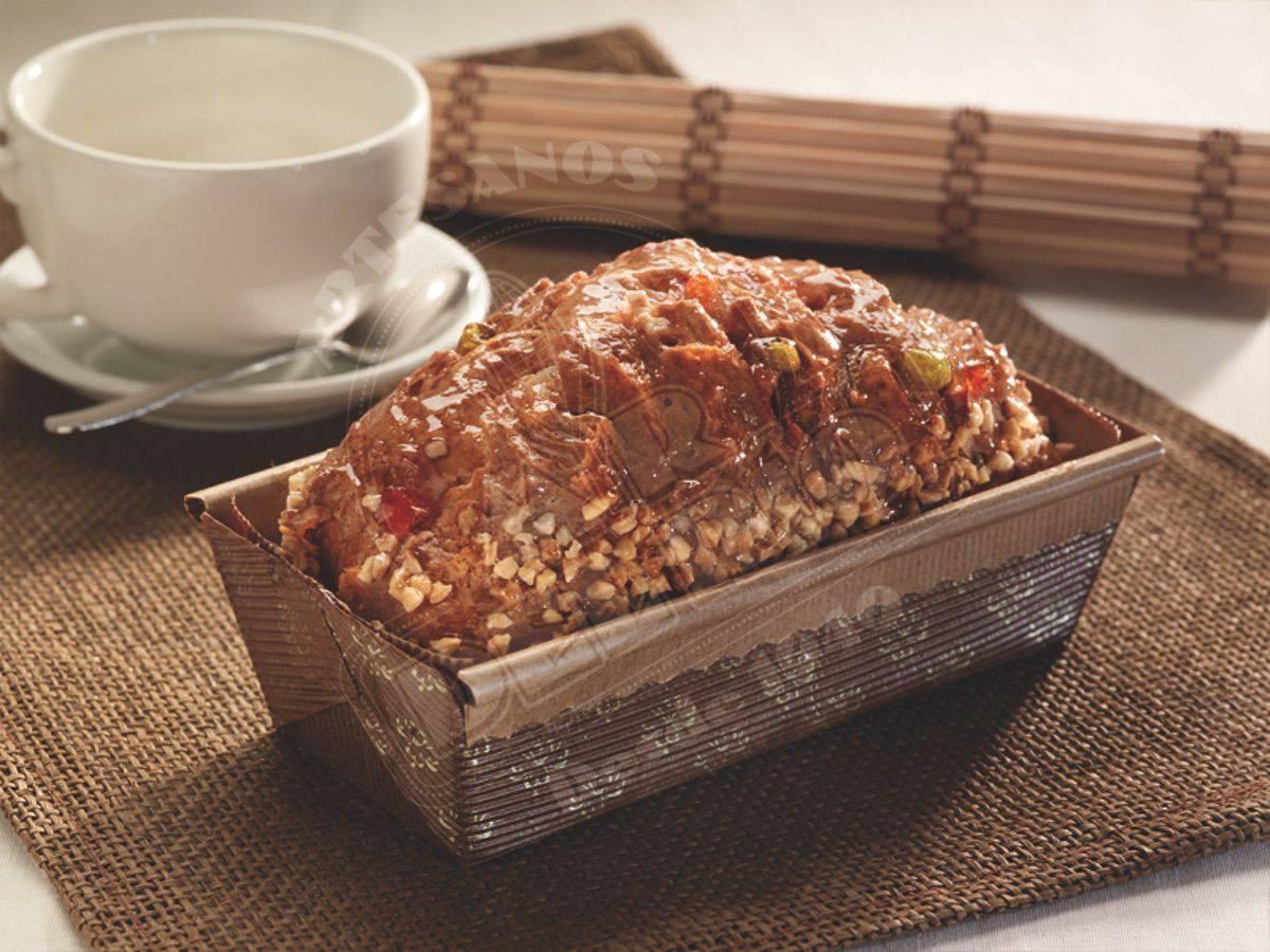 Plum-cake sin gluten