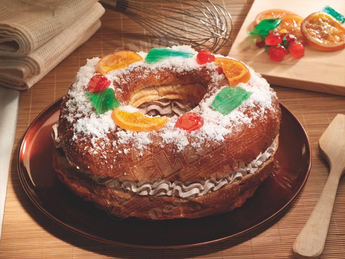 Roscón de Reyes con trufa